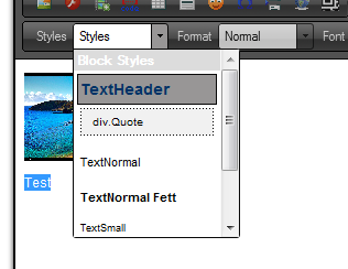 Styles DropDown With Custom Styles